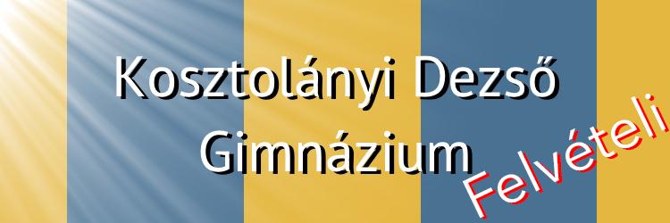 Felvételi - Logo